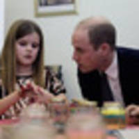 'I lost my mummy when I was very young too': Prince William comforts little girl