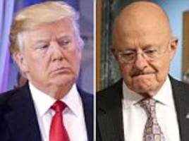 James Clapper tells Trump of his 'dismay' over Russian dirty dossier leaks