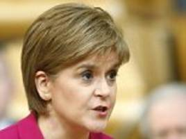 Nicola Sturgeon says draconian libel laws would 'threaten the viability' of the media