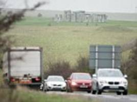 controversial tunnel under stonehenge gets the go-ahead after ministers approve plan as part of £2bn transport scheme