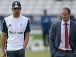 alastair cook told by andrew strauss to take longer to decide whether he will quit as england captain
