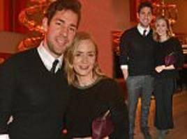 emily blunt and john krasinski at manchester by the sea screening in london
