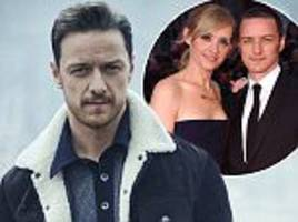 James McAvoy reveals impact of split from Anne-Marie Duff to Mr Porter magazine