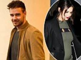Liam Payne leaves pregnant girlfriend Cheryl at home as he touches down in LA