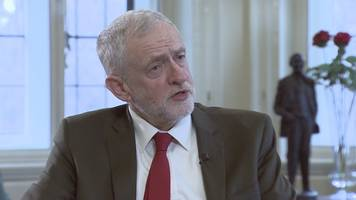 jeremy corbyn rejects 'new act of union' call