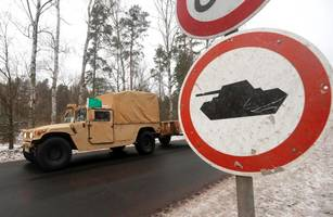 American Troops Roll Into Poland In Largest Deployment Since The Cold War