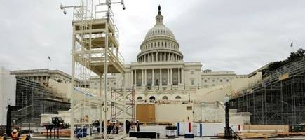 Massive Security Preparations Underway For Trump Inauguration Amid Protester Threats To Paralyze The City