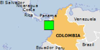 Green earthquake alert (Magnitude 5.5M, Depth:3.26km) in Colombia 12/01/2017 16:06 UTC, About 45733 people within 100km.