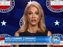 Kellyanne Conway refuses to say if Trump believes James Clapper's claim