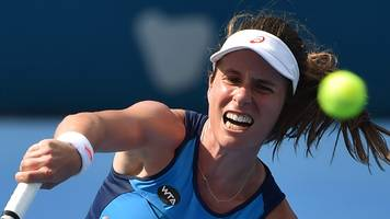 Johanna Konta beats Eugenie Bouchard to progress to final in Sydney