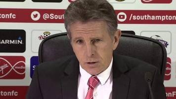 Southampton 1-0 Liverpool: Claude Puel frustrated with one goal lead