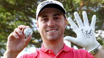 justin thomas makes pga tour history with first-round 59 in hawaii