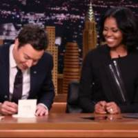 michelle obama thanks her mother for her success as first lady on jimmy fallon