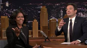 Watch Michelle Obama's Goofy, Emotional Final Talk Show Appearance