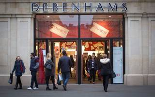 debenhams share price jumps as it reveals sales hike over festive period