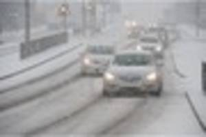 Updates: Snow forecast for Stoke-on-Trent and Staffordshire