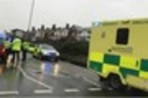 Man air lifted to hospital after collision in Teignmouth - Live...