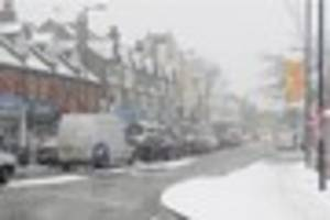 more snow forecast for croydon as met office warns of 'hazardous'...