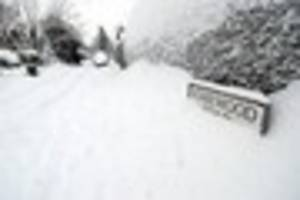 kent snow watch: live weather and travel news