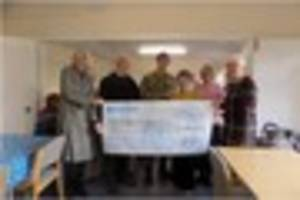 Blandford Garrison Thrift Shop saves post-Christmas party