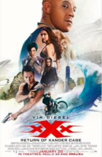 "Vin Diesel's xXx: Return of Xander Cage: ""Sometimes You Just Need That Bad A** Must-See Movie & This Is It!"""