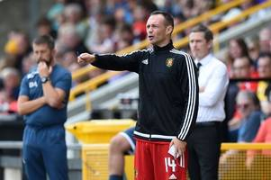 albion rovers face league one leaders livingston then celtic in the scottish cup - but boss darren young is happy with the tough fixture list