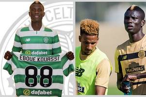 celtic confirm signing of kouassi eboue and ivory coast star will wear no.88