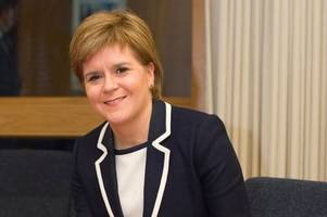 First Minister Nicola Sturgeon unveiled as Daily Record's new star columnist