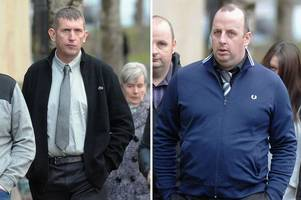 prestwick murder pair jailed for life with a minimum of 14 years after killing neighbour from hell