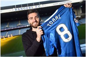 rangers new boy jon toral stood out at barcelona and he can be a stand out at ibrox too says mark warburton