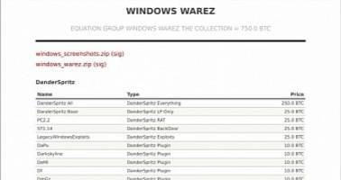 ShadowBrokers Now Selling Windows Exploits (Including a 0-day) for 750 Bitcoin