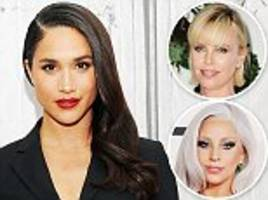 A royally good cause! Prince Harry's girlfriend Meghan Markle joins stars including Lady Gaga and Charlize Theron in a call to provide education for poverty-stricken girls
