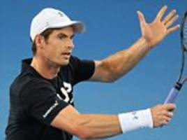 andy murray draws ilya marchenko in the australian open first round... and could face roger federer in the quarter-finals