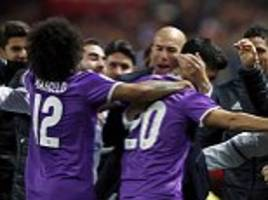 real madrid set new spanish record after going 40 games without defeat