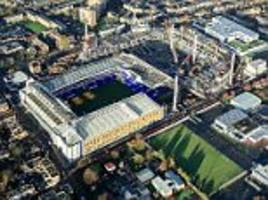 Tottenham searching for £400m naming rights deal as they battle Chelsea and West Ham