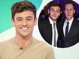 tom daley discusses dad's death and wedding to dustin lance black on loose women
