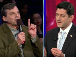 Man who says he 'would be dead' without Obamacare confronts Paul Ryan on the law's repeal