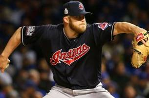 Indians, 4 pitchers agree to 2017 contracts