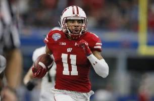 wisconsin football: looking at wide receiver and tight end position next season
