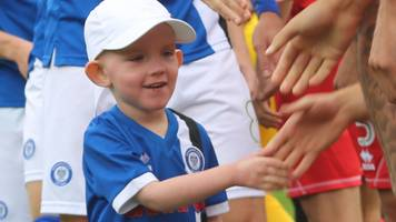 joshua mccormack: five-year-old rochdale supporter passes away from brain tumour