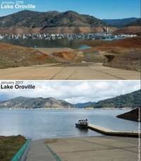 Stunning Before And After Pictures Of The California Drought And Devastating Rain Storms