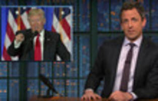 Video: Seth Meyers Excoriates Trump For Creepy 'Authoritarian' Press Conference
