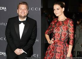 James Corden Is Confirmed to Appear in 'Ocean's Eight'. Will Katie Holmes Make a Cameo?