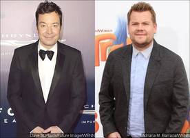 Jimmy Fallon Reportedly Takes a Jab at James Corden
