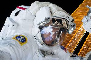 Astronauts are spacewalking again to upgrade the space station's power system