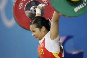3 chinese women's weightlifting gold medallists stripped of 2008 beijing olympics titles