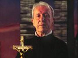 catholic priest who inspired the exorcist died from a fall after a 'possessed' child spoke to him and he was 'pushed over by an invisible force', cia agent claims