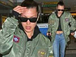 Downcast Bella Hadid emerges for first time since  ex-boyfriend The Weeknd and Selena Gomez went public with new romance