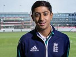 england batting sensation haseeb hameed on tea with india legend sachin tendulkar and his nasty injury