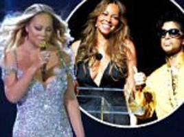 mariah carey admits she would confide in prince in times when she 'really needed somebody'